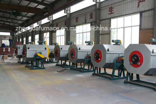 Rg Series Fully Automatic Controlled Atmosphere Drum Carburizing and Quenching Furnace pictures & photos