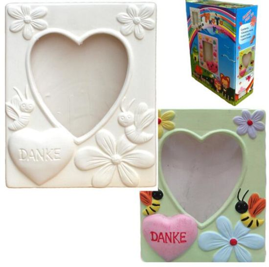 China Kids Toy Paint Your Own Ceramic Photo Frames Designs China