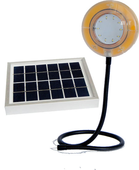 Flexible Solar Camping Light with Phone Charger pictures & photos