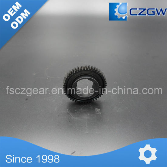 High-Precision Transmission Gear Spur Gear for Laser Cutting Machine 46teeth pictures & photos
