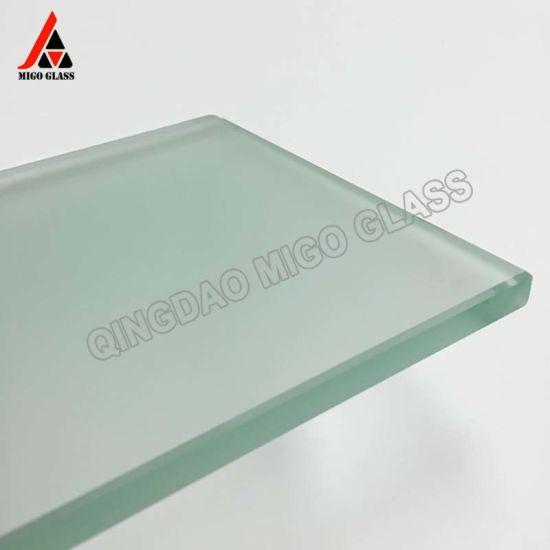 New Model High Quality Acid Etched Glass