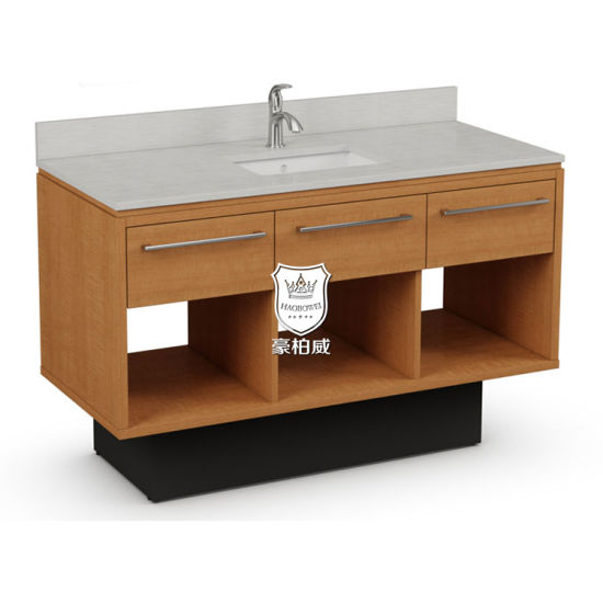 Canada Best Western Hotel Bathroom Vanity with Sink Hotel Guest Bath Vanity for Sale