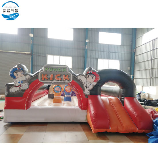 Customized Factory Price Inflatable Punch Kick Jumping Bouncer
