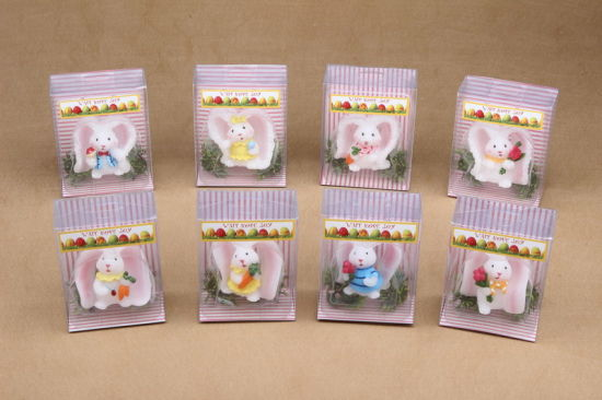 Lovely Design Rabbit Shaped Easter Candle for Sale