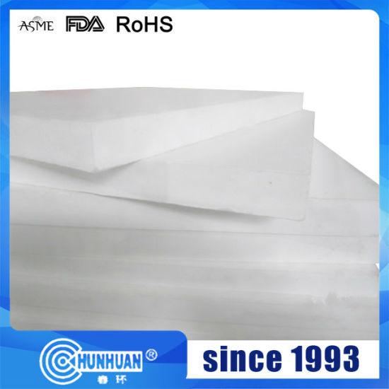 Factory 100% Virgin PTFE/ Teflon Plate Plastic Sheet