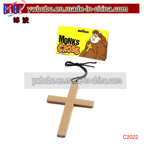 Party Decoration Large Gold Cross Costume Jewelry (C2022) pictures & photos
