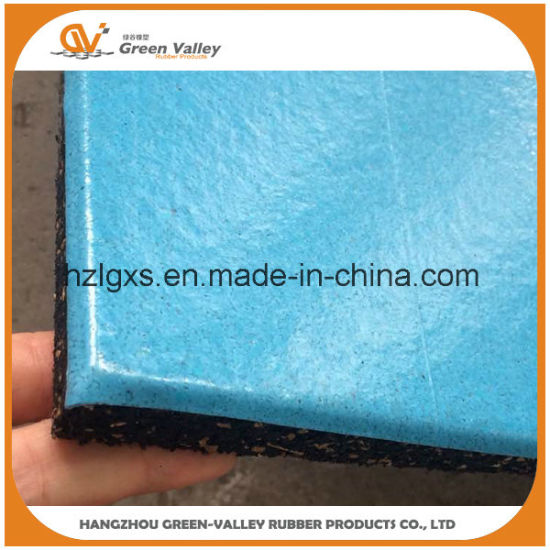 15-40mm Thick Sound Insulating Gym Rubber Tiles Rubber Mats Flooring