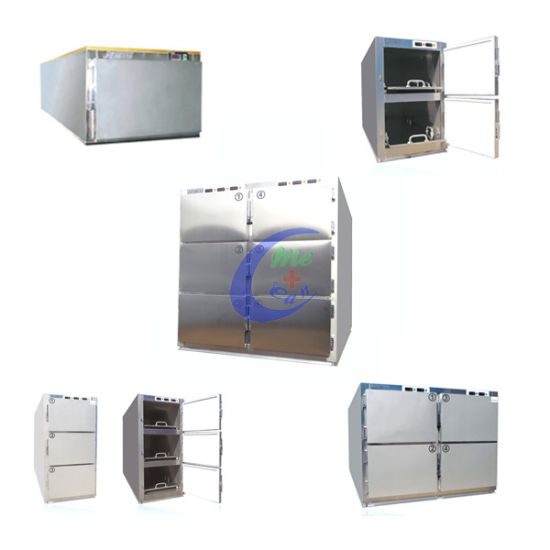 Low Price 3 Body Mortuary Refrigerator pictures & photos