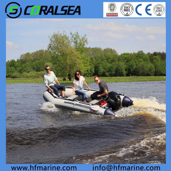 12.5FT Inflatable Boat Wholesale Hsm380