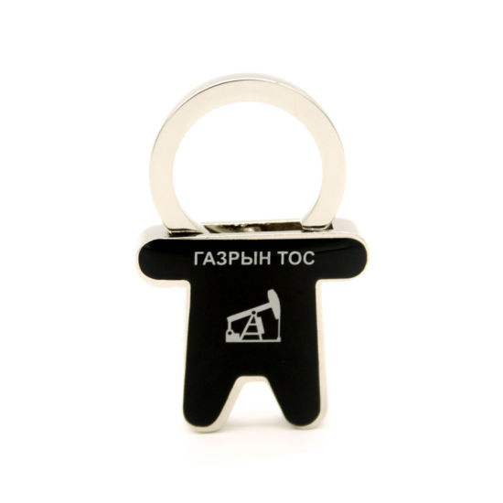 High Quality Customized Key Holder Gift Phone Stand Retractable Ring Metal pictures & photos