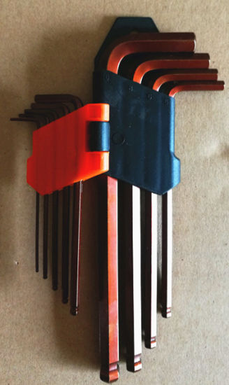 9PCS Good Quality Hex Key Set in Loose Packing. (FY09H) pictures & photos
