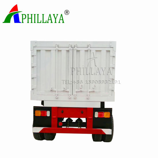 Full Towing Drawbar Small Box Trailer pictures & photos