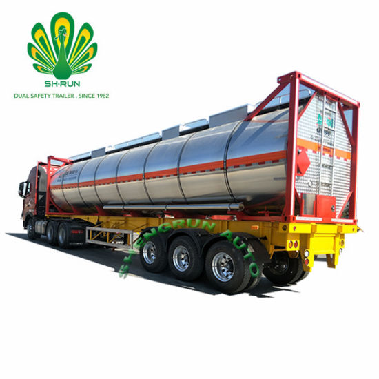 Shengrun T7/T11 High Quality Oil/Fuel/Chemical Liquid Tank Container