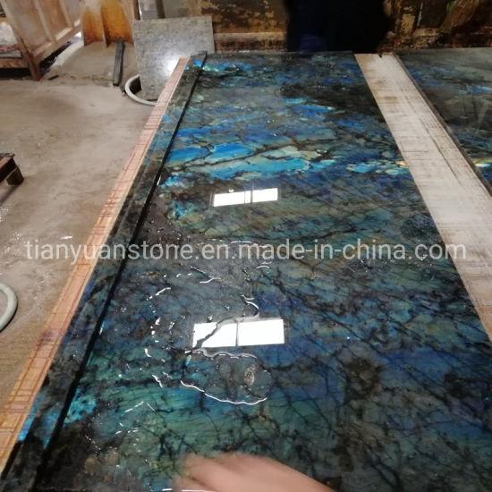 Labradorite Blue Granite/Quartz/Marble/Semi-Precious Kitchen Stone Countertop