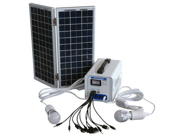6W -30W Solar Electric Energy Kit for Home Lighting System pictures & photos