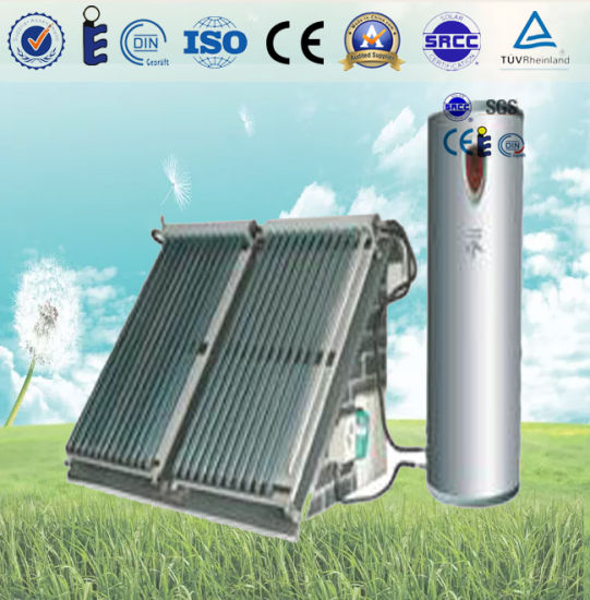 Split Solar Hot Water Heating System for Home