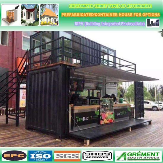 Shipping Container Homes House Stainless Steel Container Prefab House Container Restaurant Mobile Restaurant pictures & photos