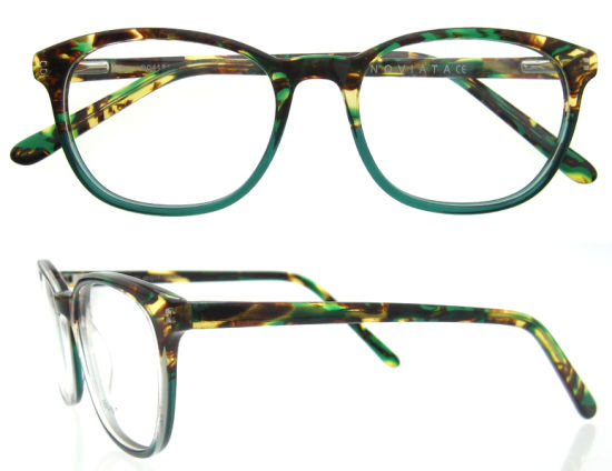 Colorful Available Fashion Cheap Lady Acetate Designer Optical Frames pictures & photos