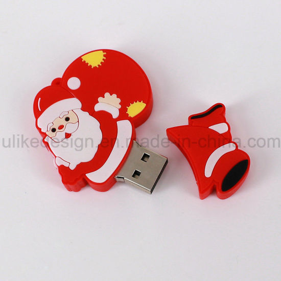Promotion Christmas Gift USB Flash Drive (UL-PVC029) pictures & photos
