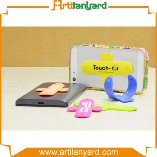 Custom Design Silicone Mobile Phone Holder pictures & photos