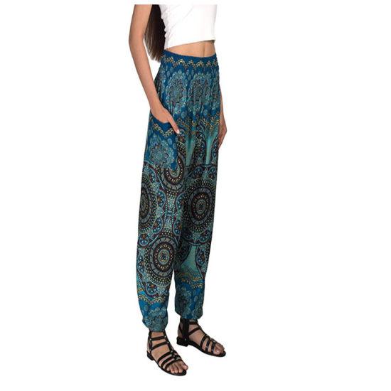 Custom Joop Joop Bohemian Elephant Harem Loose Yoga Travel Lounge Festival Casual Beach Pants