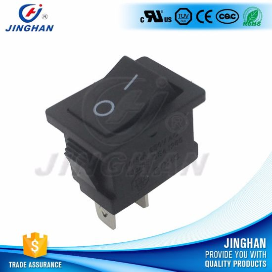 UL TUV Kcd1-106 2pin on-off Small Rocker Switch Mini Boat Switch