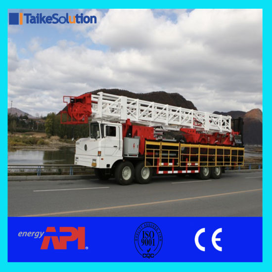 China API Certificate Workover Rig Multi-Function Workover