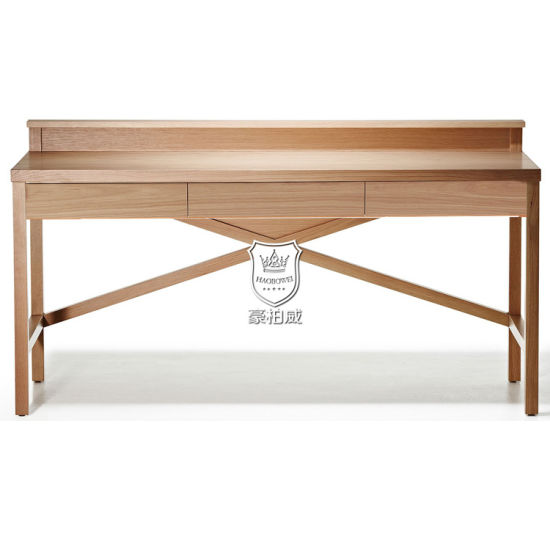 Pleasing 4 Star Hotel Natural Oak Wooden Writing Desk Australia Pabps2019 Chair Design Images Pabps2019Com