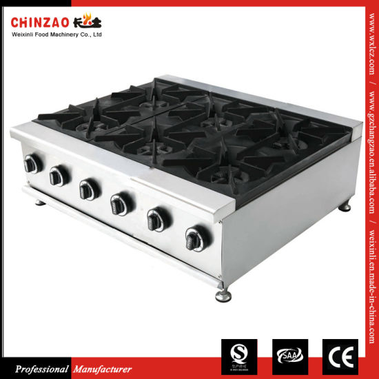 High Quality Commercial Table Top LPG Gas Cooker