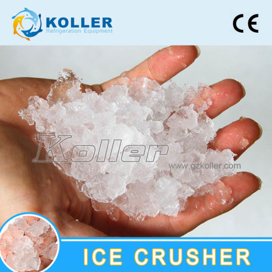 Ice Tubes/Cubes Crusher Maker with SUS304 Material