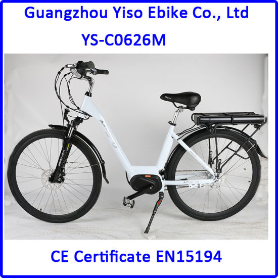 2017 Newest 8 Fun Crank Middle Drive Motor Lady City Electric E Bike