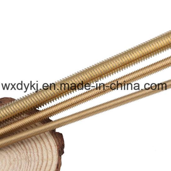 China Good Quality Brass Threaded Rod - China Threaded Rod