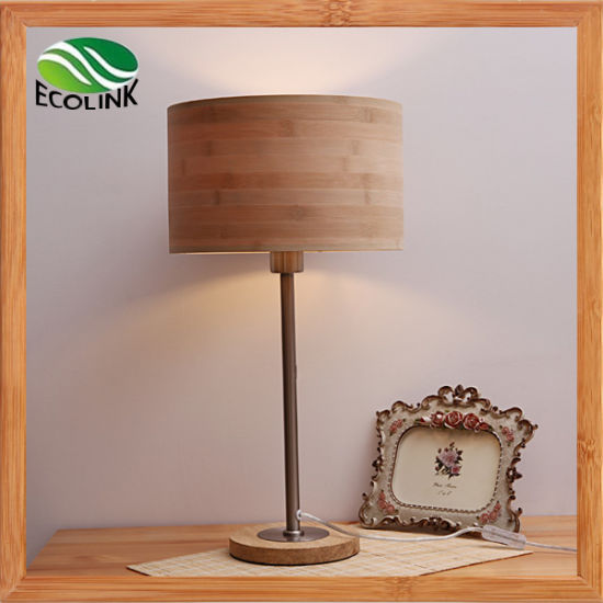 Bamboo Table Lamp / Decorative Desk Reading Light pictures & photos