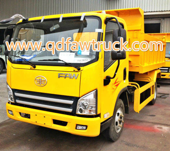 Brand New FAW 3-5 Ton Light Tipper Truck pictures & photos