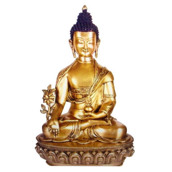Fengshui Tabletop Mini Resin Meditation Buddha Statue for Home
