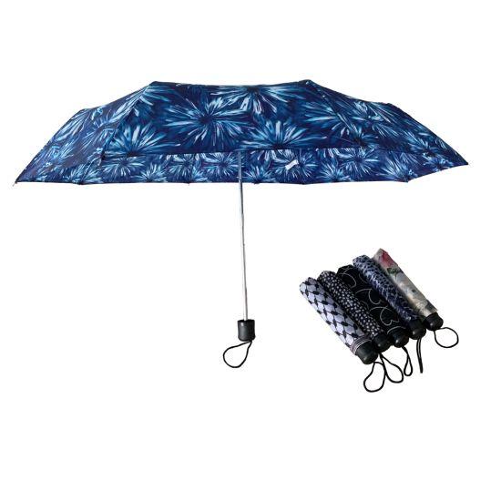 Cheapest Promotion Advertising 3 Folding Umbrella Customized China Rain Umbrella Mini Umbrellas Wholesale