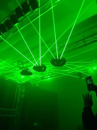 china 9 eyes rgb single green spider moving head laser light china