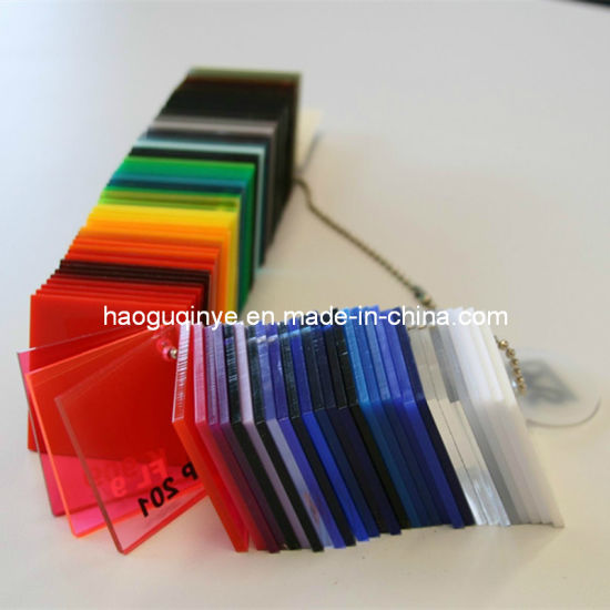 3mm Plastic PMMA Color Acrylic Sheet pictures & photos
