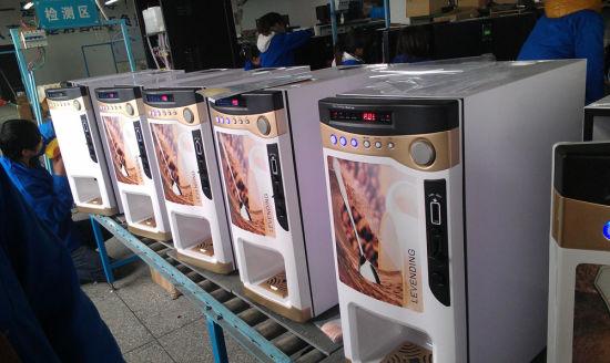 High Quality Table Top Hot Coffee Vending Machine F303V