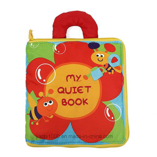 Wholesale Cloth Baby Soft Bookstoy for Babies