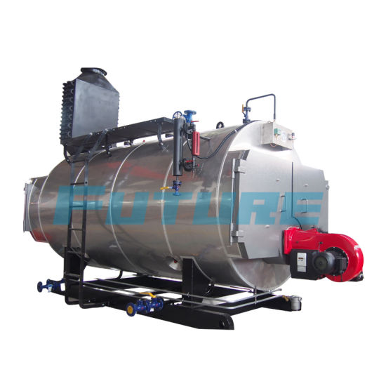 China Industrial Steam Generating Boiler (WNS5-1.25-Y. Q) - China ...