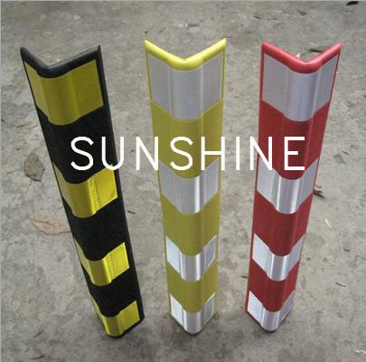 Plastic Column Protector for Storage System