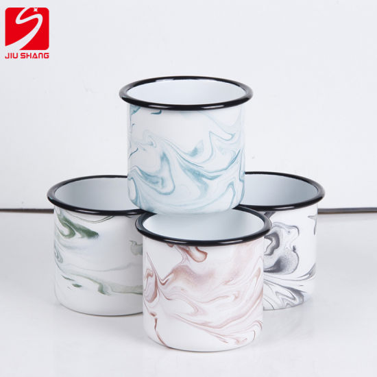 Manufacturer Custom New Thick Enamel Cup Coffee Cup Water Cup pictures & photos