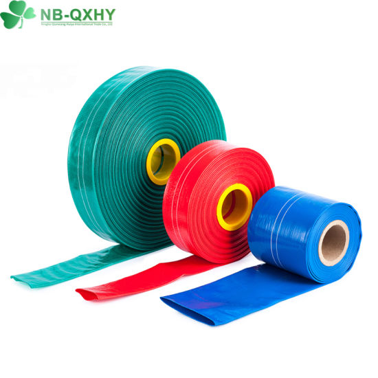 Colourful High Quality PVC Layflat Hose for Drip Irrigation