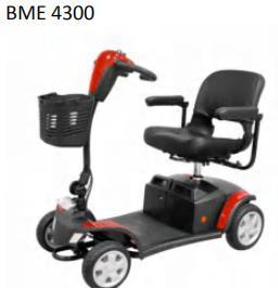 Factory Price New Elderly Disabled Disability Powerful 4 Wheel Electric Mobility Scooter
