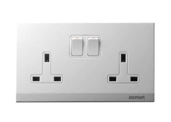 Twin Switched Socket outlet, Twin Socket outlet with D/P switch (S146K1Z3F / S146K2Z3F)