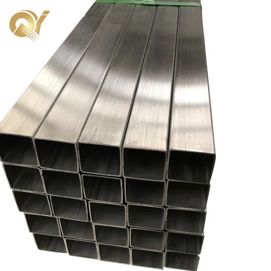 ASTM 201 202 304 316L 310S 2205 ERW Welded Polished Seamless Square Stainless Steel Pipes
