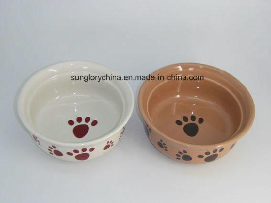Lovely Ceramic Pet Bowls of Gyp050