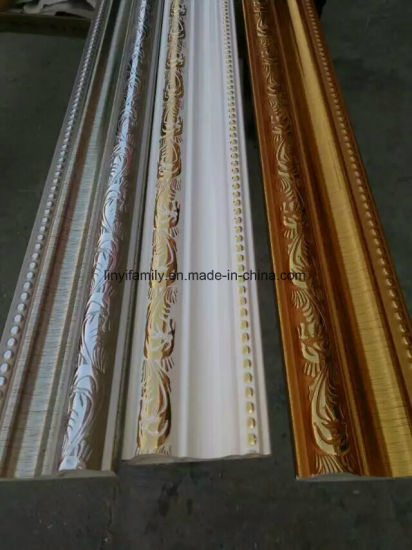 Hot Stamping PVC Panel Moulding Cornice pictures & photos