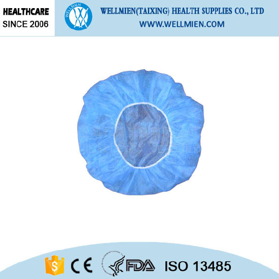 Disposable Nonwoven Round Nurse Cap for Surgical and Medical Use pictures & photos